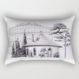 Gardener house Rectangular Pillow