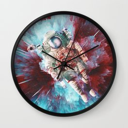 Chroma Void Wall Clock