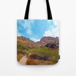 Rugged Trail Tote Bag