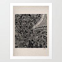 marina and the diamonds Art Prints featuring - marina - by Magdalla Del Fresto