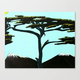 Somewhere in Zambia Canvas Print