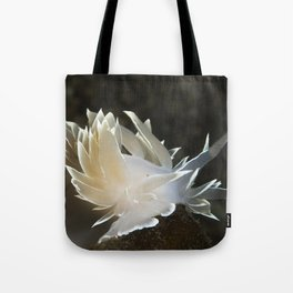 Alabaster Nudibranch Tote Bag