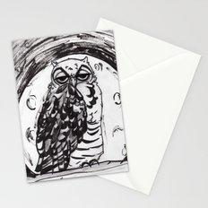 Night Owl v.1 Stationery Cards