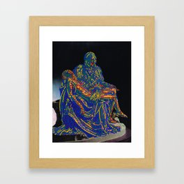 Pietà Framed Art Print