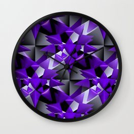 3D abstraction -08a- Wall Clock