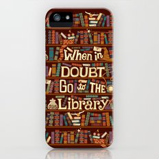 Go to the library iPhone (5, 5s) Slim Case
