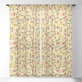 Pretty Sweary: Seriously? Yellow Sheer Curtain