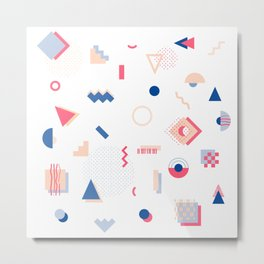 Japanese Patterns 13l Metal Print
