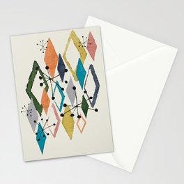 Retro Diamonds - Mrs. Hand's Rad Pad Pattern Collection Stationery Cards
