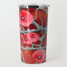 Floral Abstract 78 Travel Mug
