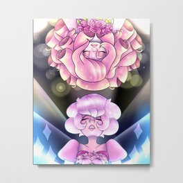 From Pink to Rose, From Rose to Pink Metal Print