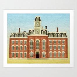 College Hall Art Print