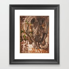 The Charge Part 2 Framed Art Print