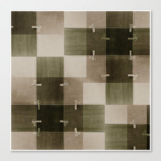 random pattern Canvas Print