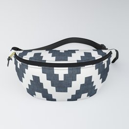Twine in Navy Blue Fanny Pack