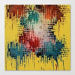 Paint Drips Canvas Print
