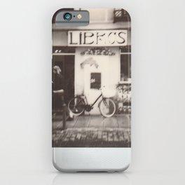 Libros iPhone Case