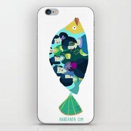 Geishas at sea iPhone Skin