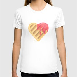 Tasty cookies in the shape of heart T-shirt
