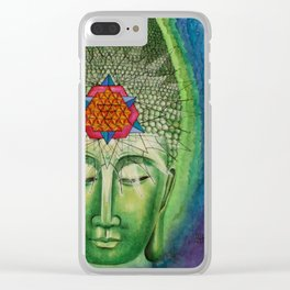 The Buddha Clear iPhone Case