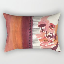 What You Say & What You Mean Rectangular Pillow