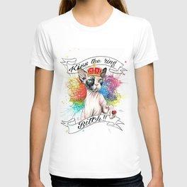 Kiss the ring Bitch T-shirt
