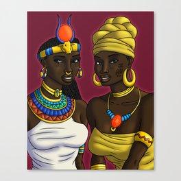African Love Divinities (Digital) Canvas Print