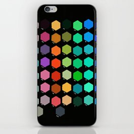 Darth Color Chart iPhone Skin