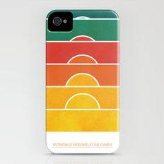 No regrets iPhone (4, 4s) Slim Case