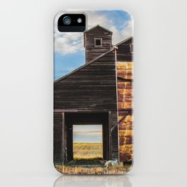 Grain Elevator and Koda iPhone Case
