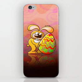 Easter Bunny Falling in Love iPhone Skin