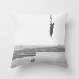 Sydney Harbour Bridge Throw Pillow