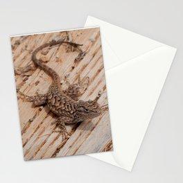 Plateau Fence Lizard, Utah Stationery Cards