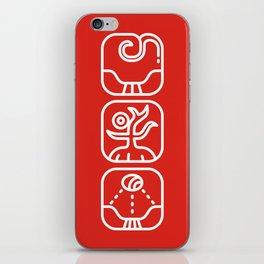 Mayan Glyphs ~ Nature iPhone Skin