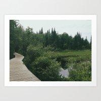 hikes Art Print