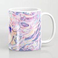 barachan Mugs featuring little dream by barachan