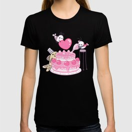 Shy Shrimp - Birthday Cake T-shirt