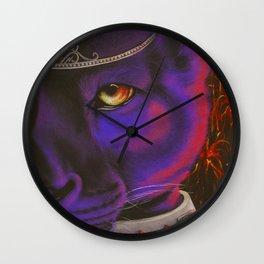 Panther Princess Wall Clock