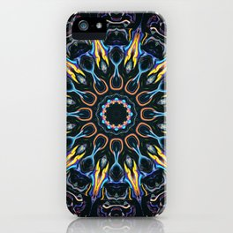 Night Sun Mandala iPhone Case