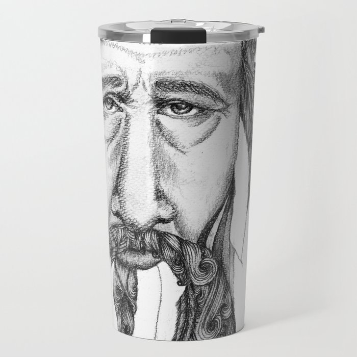 An 87 Year Old Man Feeling A Bit Down And Lonely Travel Mug By Ragnhildea Society6
