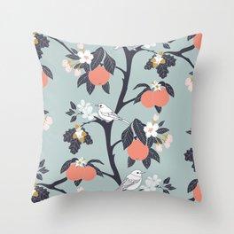 MAMA ROSA GARDEN - BIRD Throw Pillow