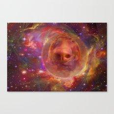 Astro Dog Canvas Print