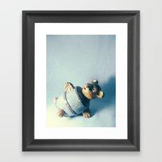 Bear-rel of Laughs Framed Art Print
