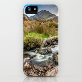 Tryfan Snowdonia National Park iPhone Case