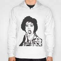 rocky horror picture show Hoodies featuring Rocky Horror by Colesart