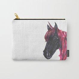 Dark unicorn Carry-All Pouch