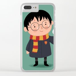 Harry and Hedwig Clear iPhone Case