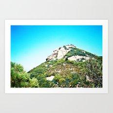Sandstone Peak 1 Art Print