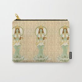 Bow Down to the Goddess Carry-All Pouch