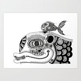 Reliance  Art Print